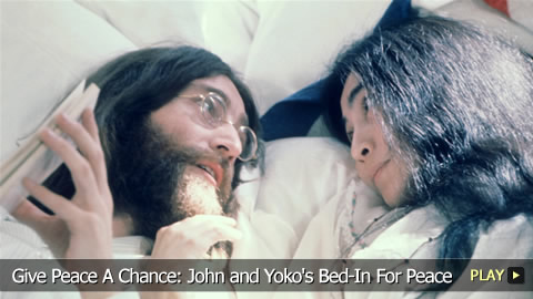 Give Peace A Chance: John and Yoko's Bed-In For Peace