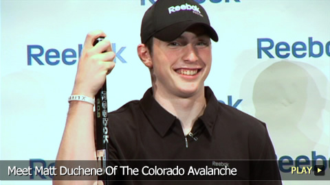 Meet Matt Duchene Of The Colorado Avalanche