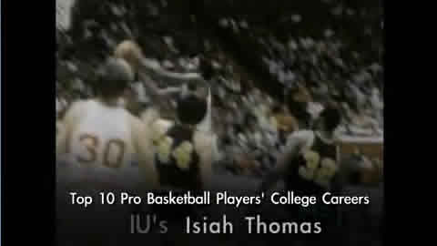 Isiah Thomas - Indiana Hoosiers - Greatest Basketball Players