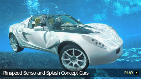 Rinspeed Senso and Splash Concept Cars