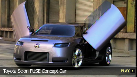 Toyota Scion FUSE Concept Car