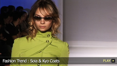 Fashion Trend: Soïa and Kyo Coats