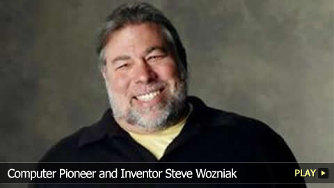 Computer Pioneer and Inventor Steve Wozniak