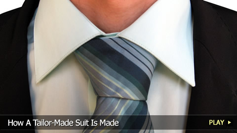 How A Tailor-Made Suit Is Made
