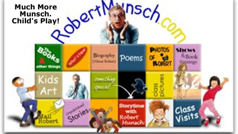 The World of Children's Author Robert Munsch