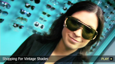 Shopping For Vintage Shades