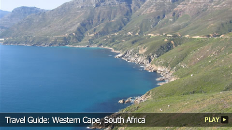 Travel Guide:  Western Cape, South Africa