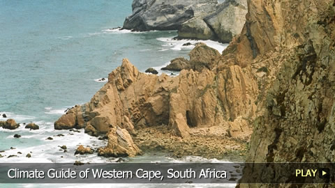 Climate Guide of Western Cape, South Africa