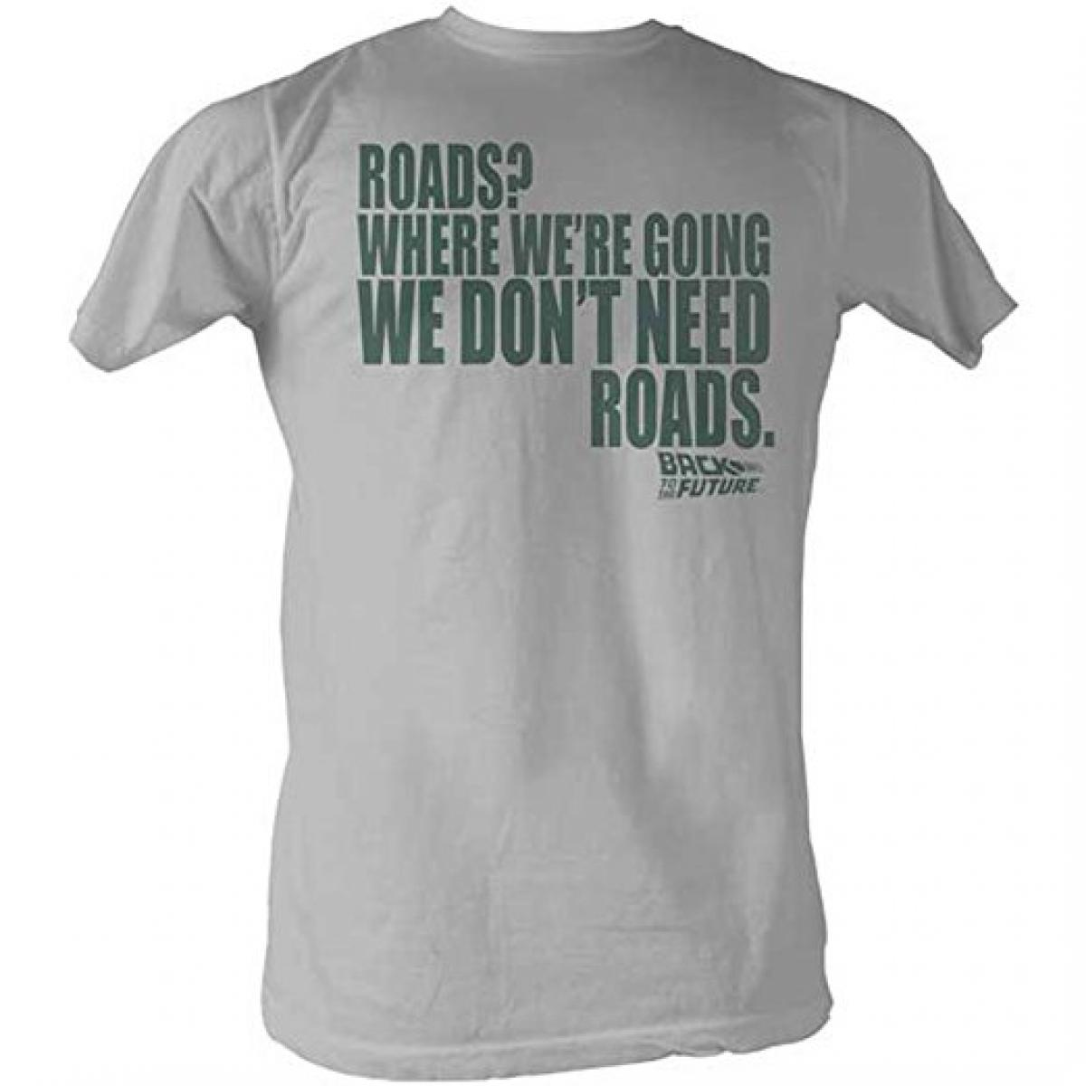Back To The Future Men's Roads T-Shirt