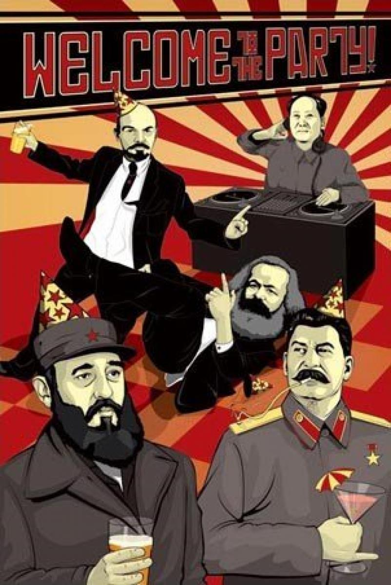 Dictators Getting Groovy Poster