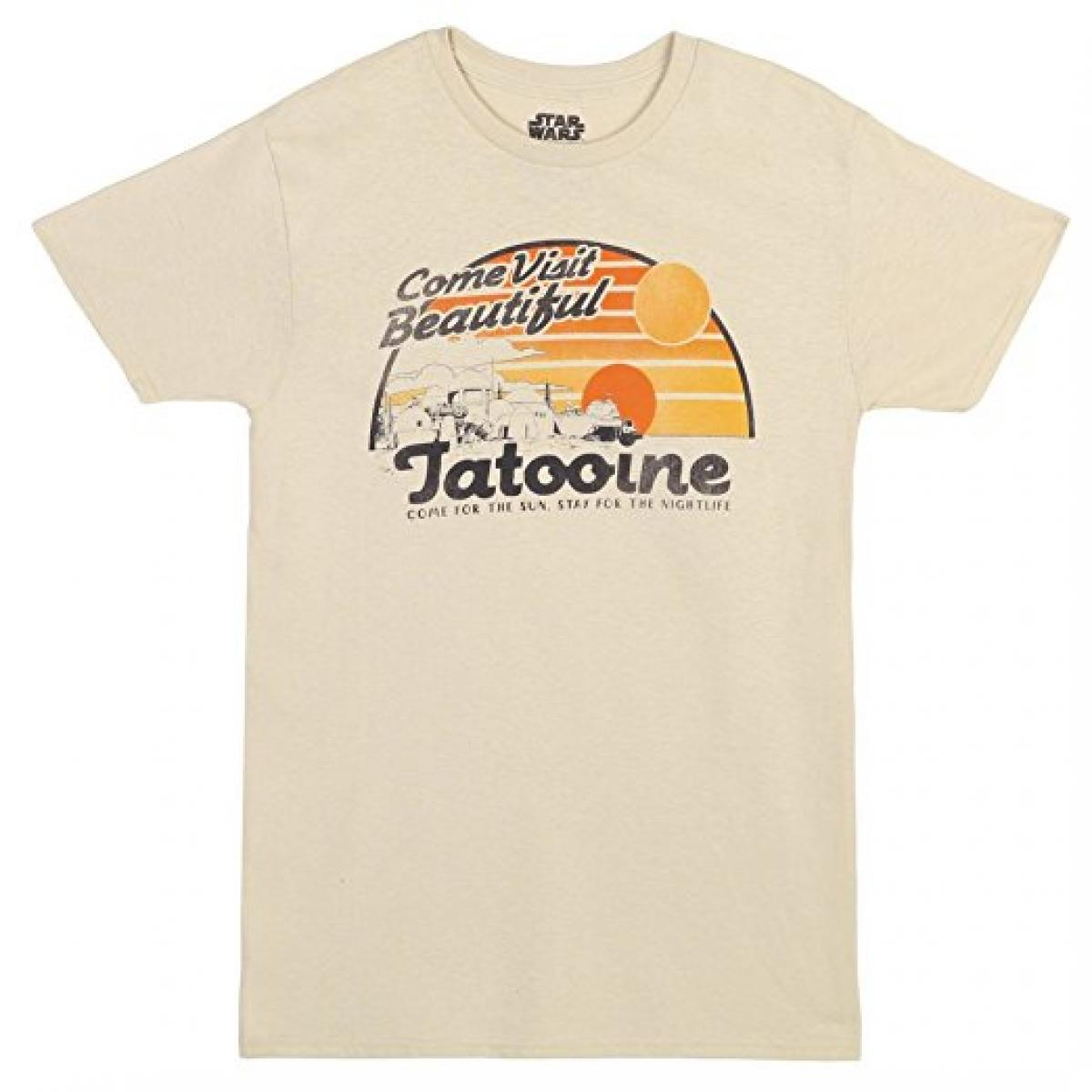 Star Wars Visit Beautiful Tatooine T-shirt
