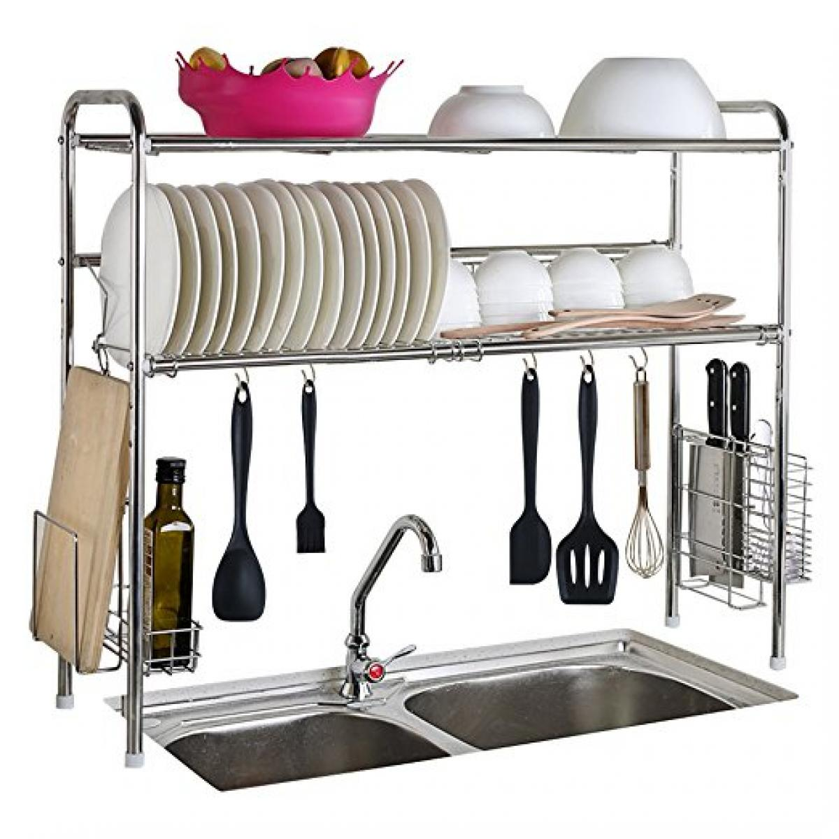 Stainless Steel Sink Storage Shelf