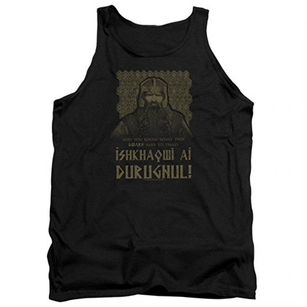 Lord Of The Rings Ishkhaqwi Durugnul Mens Tank Top