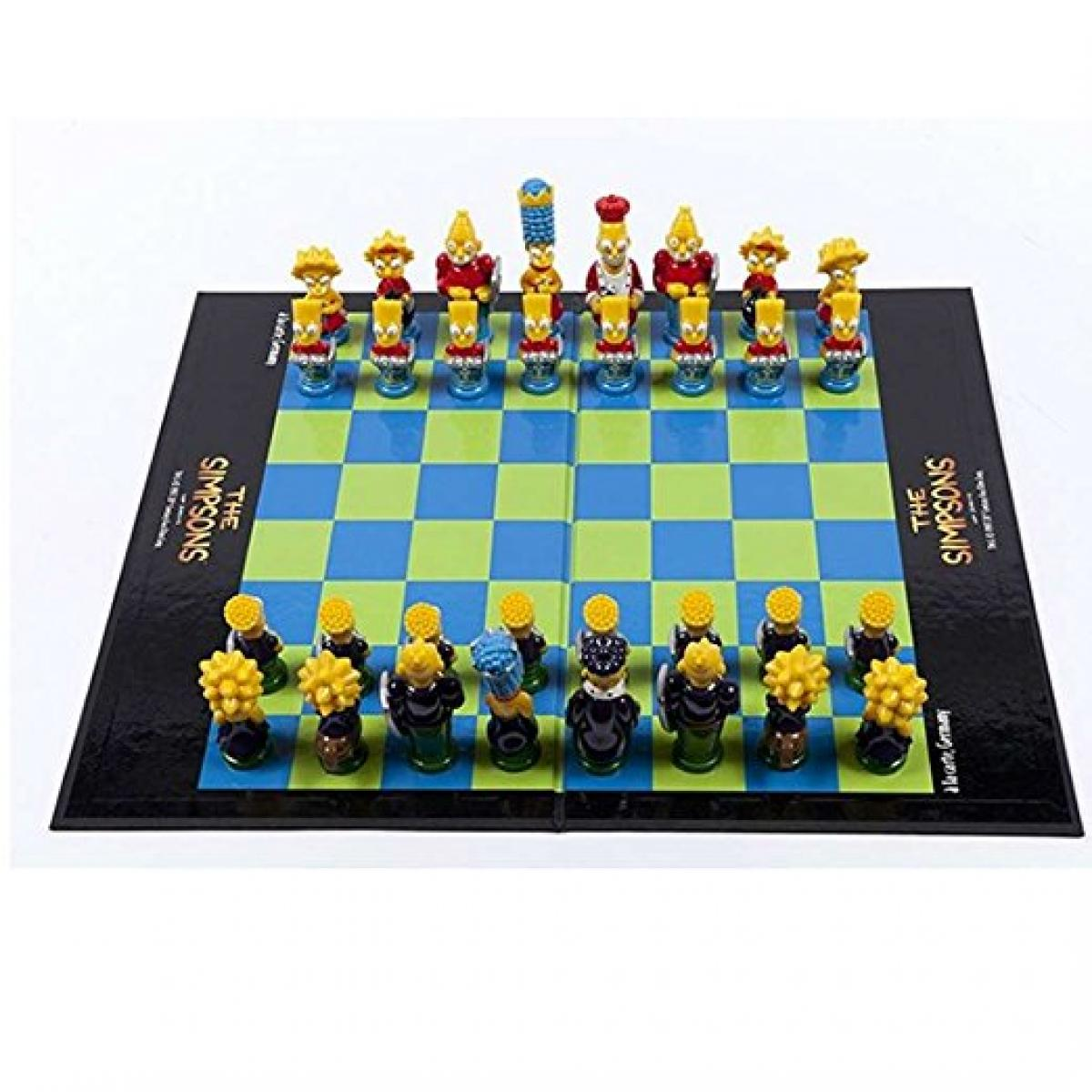 The Simpsons 3D Chess Set