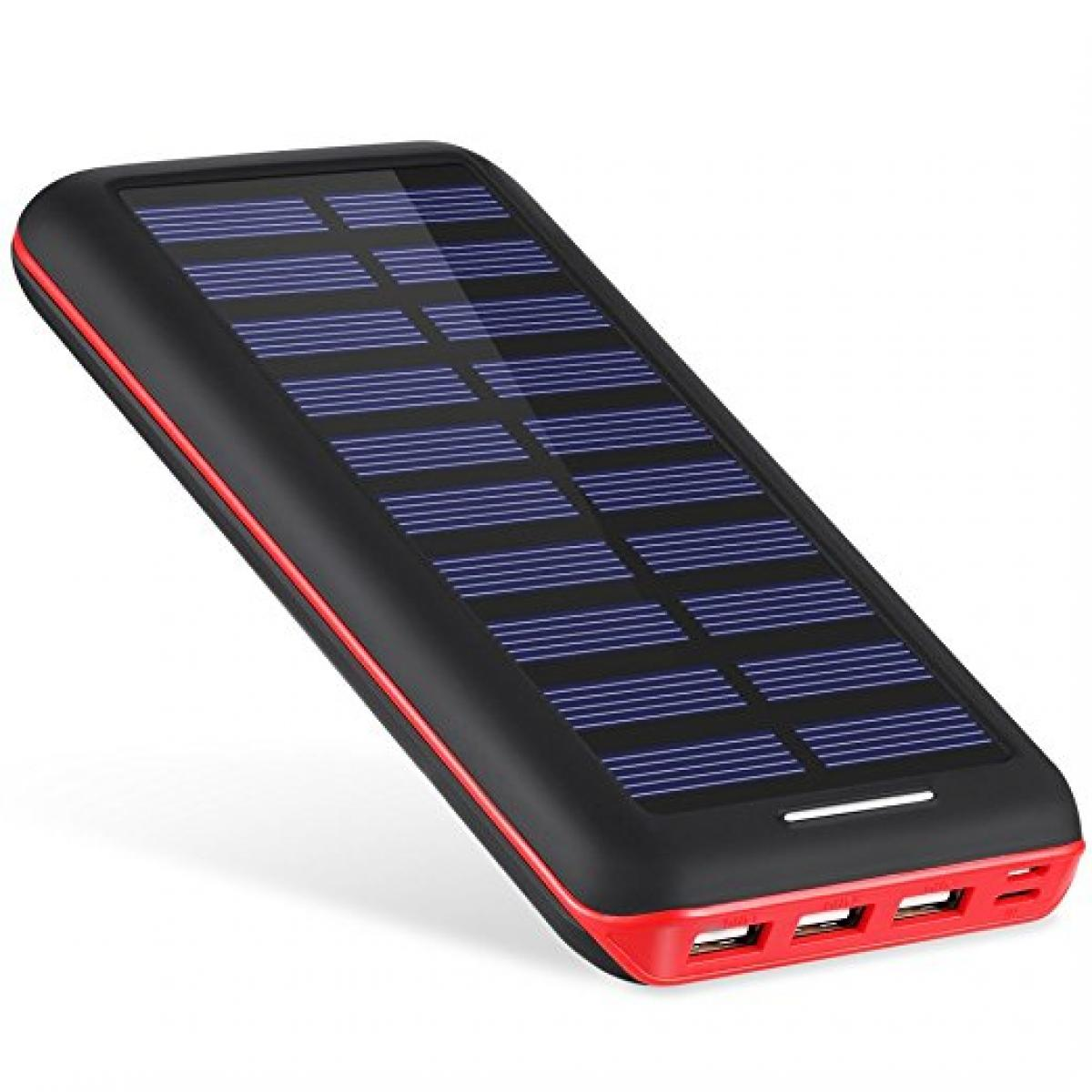 AKEEM Solar Powered Portable Charger