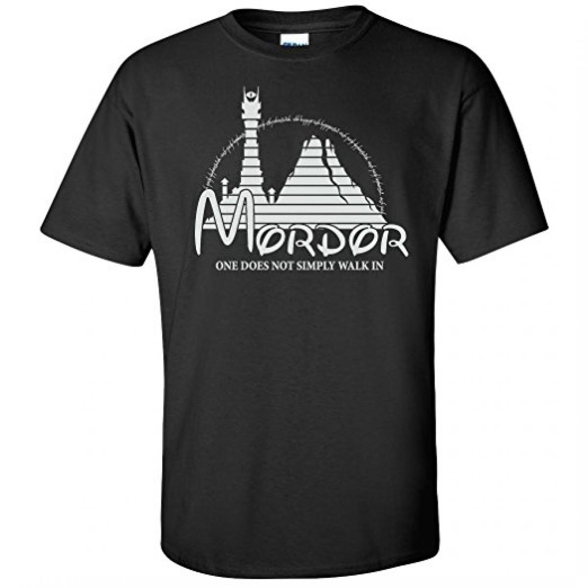 Mordor Lord Of The Rings Graphic T-Shirt