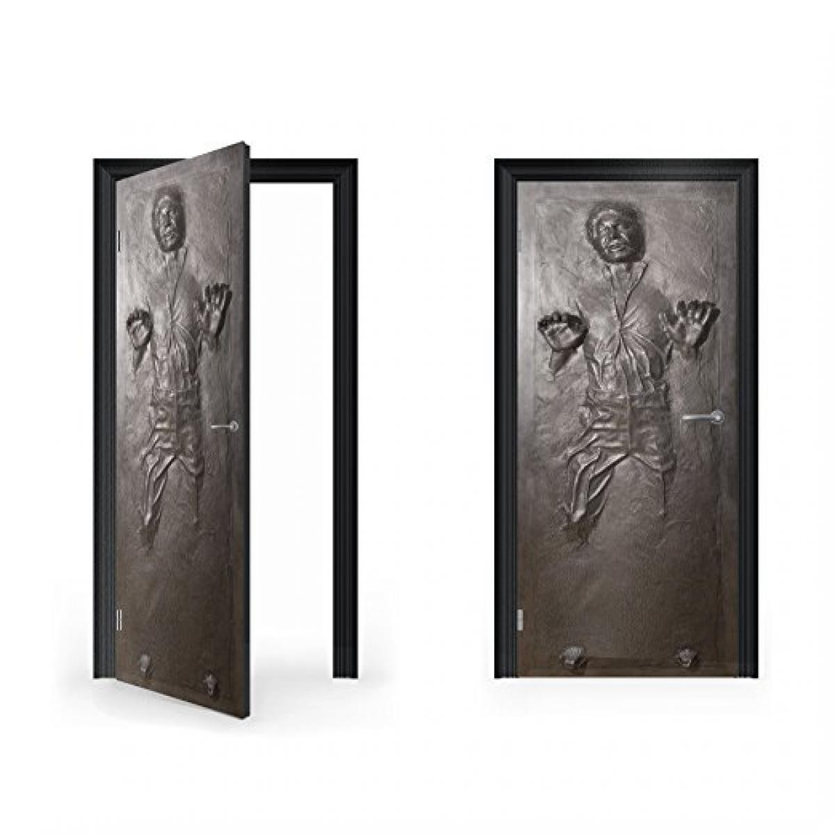 Han Solo Carbonite Vinyl Sticker for Door