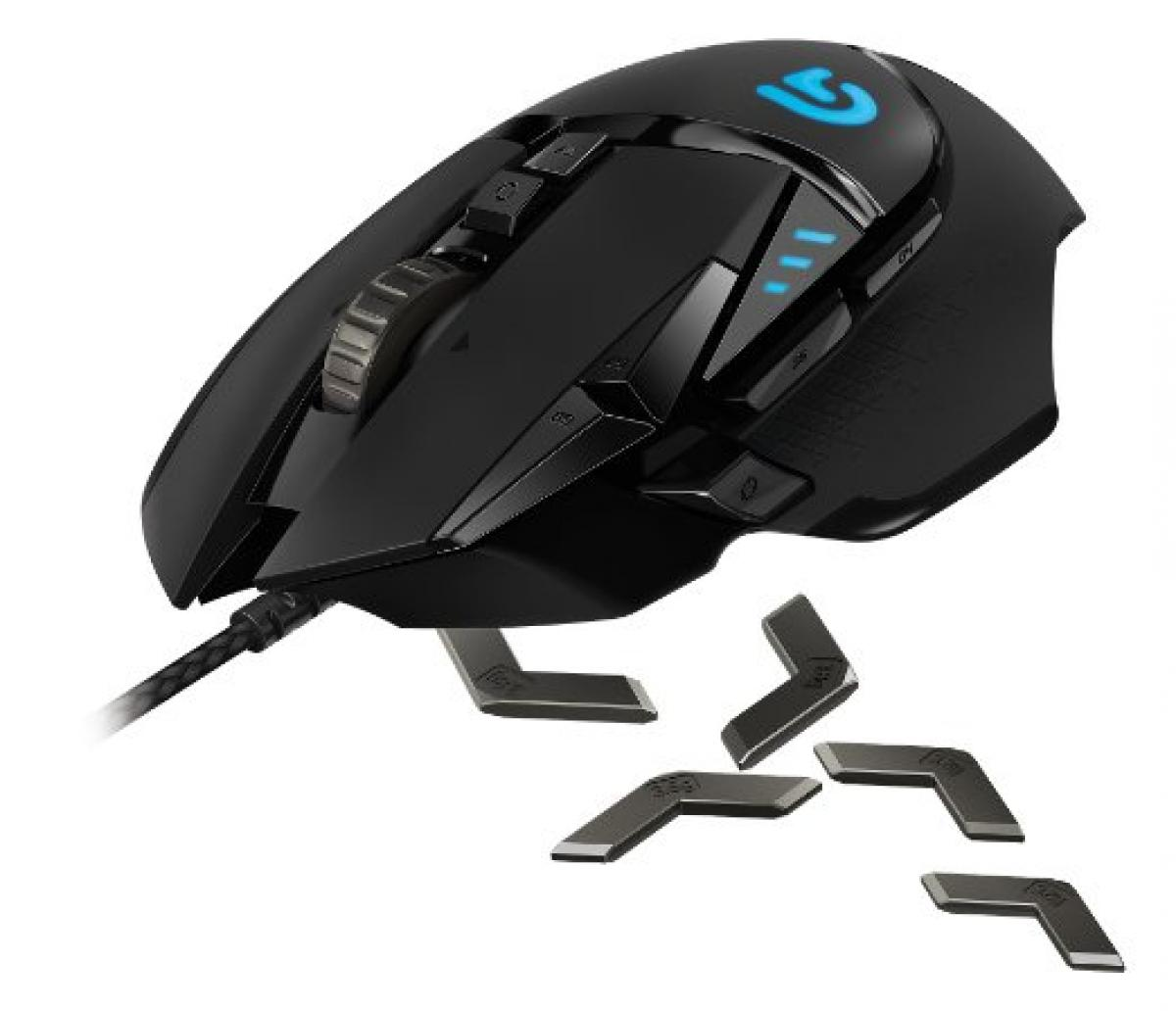 Logitech G502 Proteus Tunable Gaming Mouse