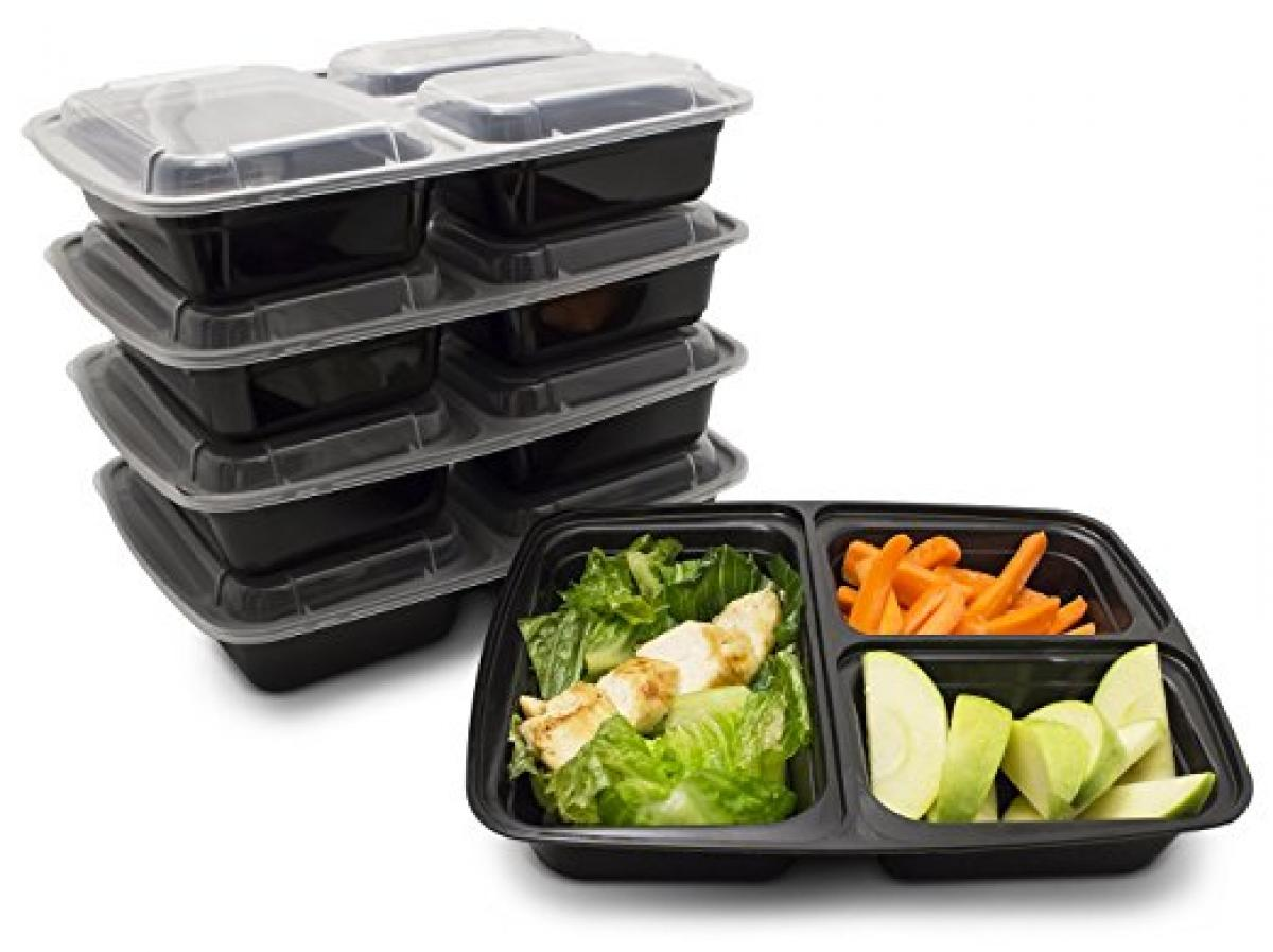 Meal Prep Lunch Boxes with Lids