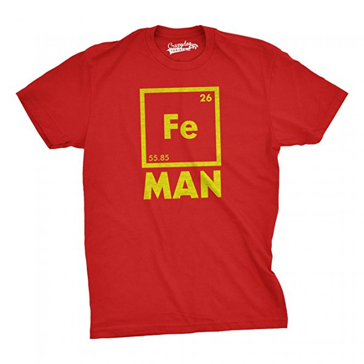 Iron Man Science T-Shirt