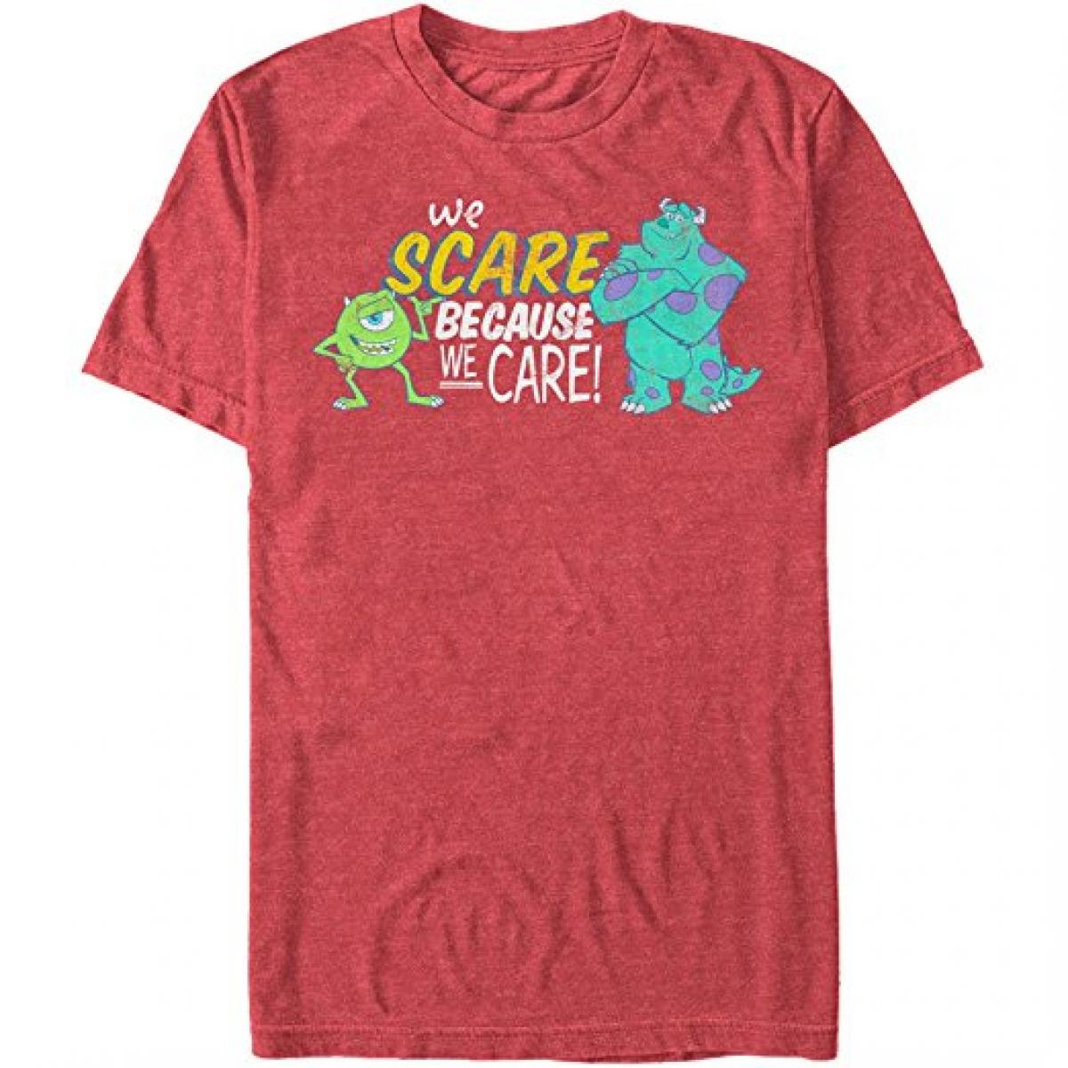 Monsters Inc Caring Heather T-Shirt