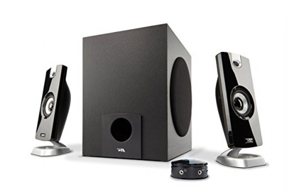 Cyber Acoustics 18W Computer Speakers with Subwoofer