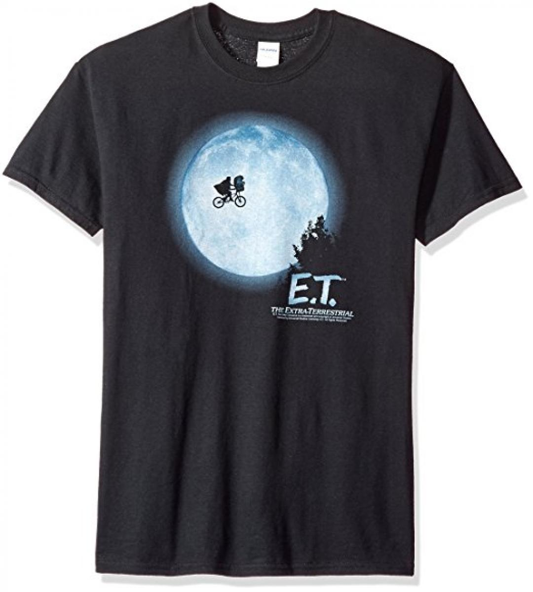 Et the Movie E.t. Moon Scene T-Shirt