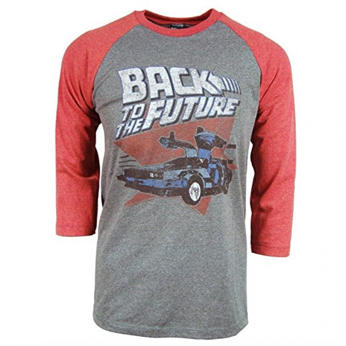 Back To The Future Red and Blue  T-Shirt