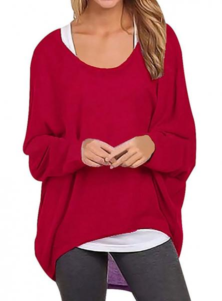 Oryer Woman's Red Pullover