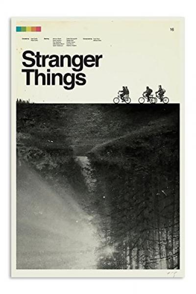 Stranger Things Season One Retro Poster