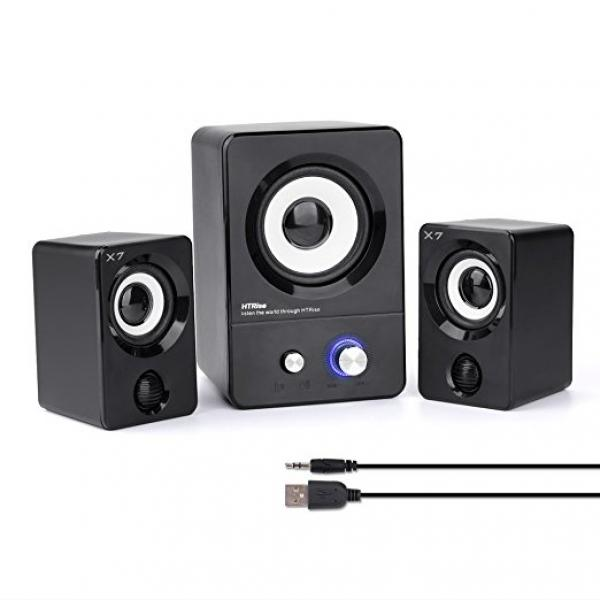 HTRise USB Powered Computer Speakers System