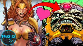 Top 10 Seriously Messed Up Superhero Romances