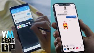 iPhone X VS Samsung Galaxy Note 8 - Gear Up^