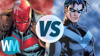 Nightwing VS Red Hood