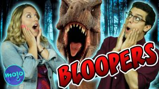 JURASSIC WORLD Game Show: Bloopers!