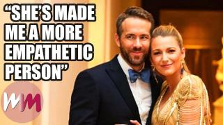 Top10 Sweetest Things Celebs Have Said About Their Significant Others