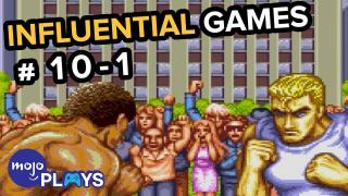 50 Most Influential Video Games - #10-1