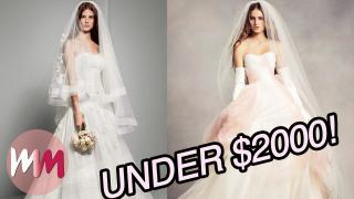 Top 10 Most Affordable Wedding Dress Brands