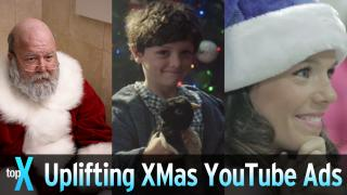 Top 10 Uplifting Christmas YouTube Ads - TopX