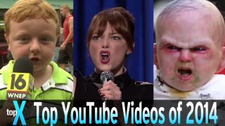 Top 10 YouTube Videos of 2014 -  TopX Ep.25