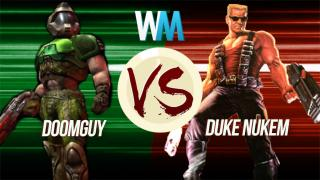 Video Game Duel: Doomguy Vs Duke Nukem