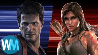 Nathan Drake Vs Lara Croft