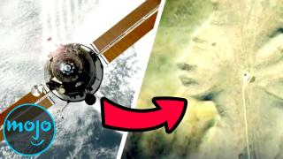 Top 10 Creepiest Things Discovered By Space Satellites