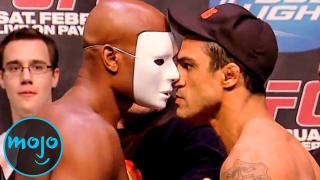 Top 10 Most Confrontational UFC Weigh-Ins