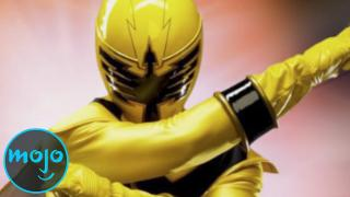 Top 10 Yellow Power Rangers