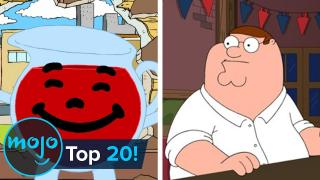 Top 20 Family Guy Running Jokes