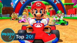 Top 20 Greatest Mario Kart Tracks of All Time