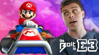 We play Mario Kart in DUNE BUGGIES! - The Bolt to E3 part 2