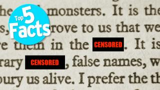 Top 5 Facts About Censorship