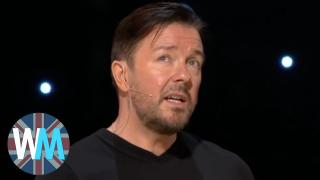 Top 10 Ricky Gervais Moments